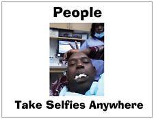 """Jail Prison Inmate Postcard """"The Dental Selfie"""""""