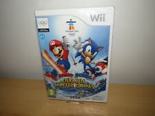 Mario & Sonic at the Olympic Winter Games nintendo Wii,new sealed pal