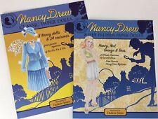 SPECIAL OFFER!  2 Books: CLASSIC NANCY DREW and NANCY DREW & FRIENDS Paper Dolls