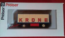 "Preiser 21020 HO 1:87; Packwagen ""Zirkus Krone"" offen"
