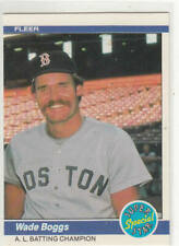 WADE BOGGS 1984 FLEER #630 BOSTON RED SOX
