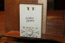 "Vintage ""Coffee Starter"" Plug In Timer Switch"