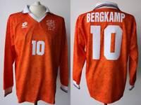 MAGLIA OLANDA 1994 LOTTO BERGKAMP USA '94 CALCIO TRIKOT NETHERLANDS HOLLAND V