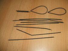 Märklin Metallbaukasten verschiedene Transmissionsspiralen + Feder  siehe Foto