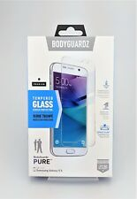 Bodyguardz Pure Tempered Glass Screen Protector for Samsung Galaxy S6 New