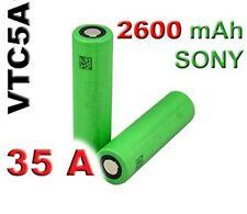 Batteria Sony Pila VTC5A 2600 mAh 35A 18650  scarica + di vtc6  originali 💯%