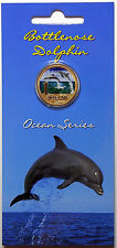 2006 Australia - Ocean Series - Bottle Nose Dolphin - $1 Coloured Coin as issued