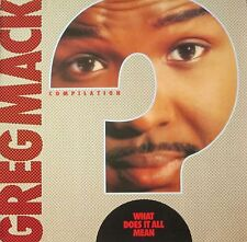 Greg Mack Compilation - What Does It All Mean (Motown Vinyl-LP Germany 1989)
