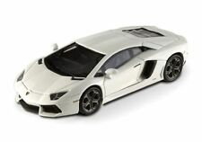 White Lamborghini Diecast Racing Cars