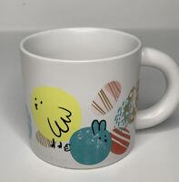 Starbucks Easter Spring Coffee Tea Mug Cup Eggs Bunnies Chicks~New