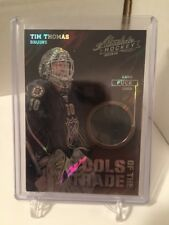 2014 Panini Father's Day Absolute Tools of the Trade Lava Flow #11 Tim Thomas