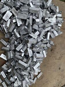35lbs Fluxed 1lb Ingots Soft Lead Weights Sinkers Jigs Bullets Casting Clean