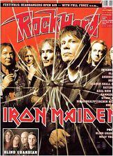 Rock Hard 9- 2006 - Iron Maiden, Slayer, Audioslave, Stone Sour (+ CD+ Poster