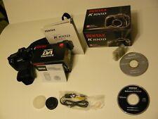 PENTAX Pentax K K100D 6.1MP Digital SLR Camera - Black (Kit w/ DA...