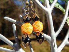 Mode-Ohrschmuck aus gemischten Metallen mit Perlen (Imitation) Hakenverschluss