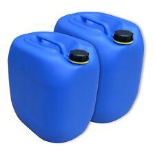 2 Stück 30 L Behälter Plastikeimer Kanister Wasserbehälter Kunststoffkanister.