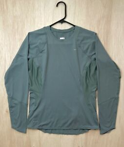 Nike Women's Dri-Fit Long Sleeve Compression Shirt Top Submarine Green Size: M