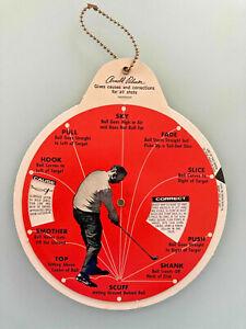 Arnold Palmer - Vintage 1966 Problem Solver Training Golf Wheel Dial - Excellent