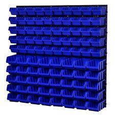 Stapelboxen Wandregal Box Sichtlagerkasten Schuttenregal Lagersystem 90 Boxen