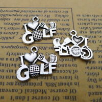 24//72pcs Tibetan silver Sea turtle Charms Pendant DIY Crafts Beads 12.5*16mm