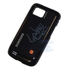 Batería Original Genuina Funda Trasera Puerta Para Samsung S5600 Hoja Negro