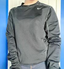 Nike Pro Combat Dri Fit M Black Long Sleeve Shirt