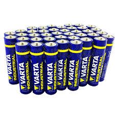 40x Varta AAA batteries Alkaline Industrial LR03 Micro 4003 MN2400 FREE Shipping
