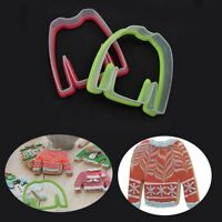 Tool Boy Girl Clothes Sweater Silicone Mold Cookie Cutters Biscuit Mould