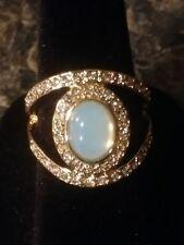 Opalesque Split Ring Size 6