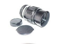 Soligor Nikon F Mount 1:2.8, 135mm Tele-Auto Macro Lens w/Caps