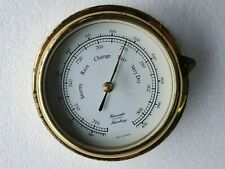 Hanseatic Vintage Marine Brass Barometer  - Made In Germany