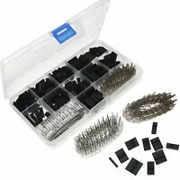 "TC10 0.1"" Dupont Wire Jumper Pin Header Connector Kit and M/F Crimp Pins 620 pcs"
