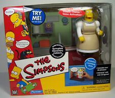 World of Simpsons WOS  Springfield Elementary Cafeteria with Lunchlady Doris