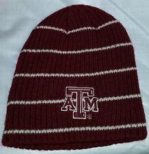 #666 Texas A&M Burgandy/Tan Beanie Stocking Cap Hat-NWOT FREE SHIP