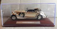 """DIE CAST """" HORCH 853 A """" SILVER CARS COLLECTION ATLAS 1/43"""
