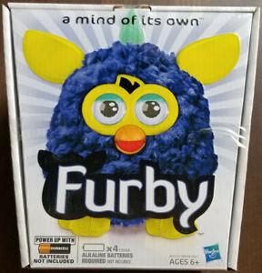 Furby (2012) - BNIB - Navy Blue & Yellow
