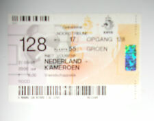 TICKET NEDERLAND KAMEROEN / 27.05.98