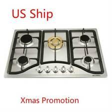 "METAWELL 30"" 5 Burners Cooktops Built-in NG LPG Gas Hob Cook Top  ~US Ship"