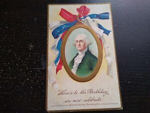 1909 Bartholomay Brewery Co. George Washington Advertising Photo Postcard