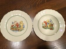 """Rorstrand """"Tomteboo""""  Sweden 521 55 Plate And Bowl Set"""