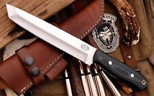 CFK AMAZON Custom Handmade D2 BARRACUDA Tactical TANTO Blade Hunting Knife CFK31