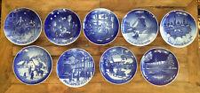 """9 Lot Bing & Grondahl B&G Copenhagen Plates 1991 - 1999 Jul After 7.25"""" Euc"""