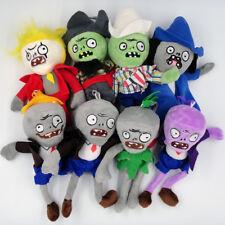 6.7'' Mini Plants vs Zombies Plush Baby Staff Toy Stuffed Soft Doll w/ Keychain