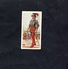 Carreras Ltd 0 1937 - History of Naval Uniforms - No5 - Officer of Drake Period