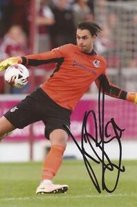 BRISTOL ROVERS: KELLE ROOS SIGNED 6x4 ACTION PHOTO+COA