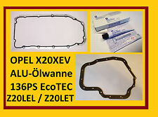 Satz OPEL Ölwannendichtung + Dichtmasse, X20XEV,Z20LER,Z20LEH, X20XER, Z20LET