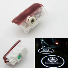 2x Ghost LED Door Step Courtesy Shadow Laser Light For Mercedes A B E ML C GL