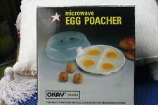 Lovely Vintage  Heart Shaped Microwave  Egg Poacher