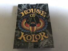 House Of Kolor PLAYING CARDS Quality Kustom Finishes Picayne MS Sealed MIP NEW