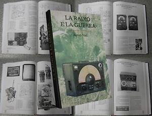 Libro Antique LA RADIO E LA GUERRA militaria WWII Military Set militari esercito